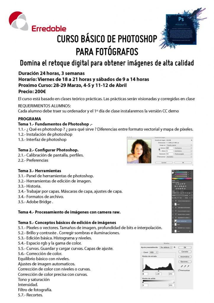 CURSO BASICO PHOTOSHOP INFO HOJA 1